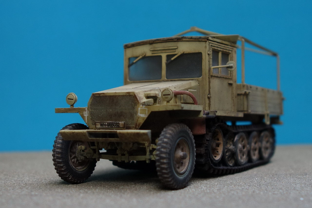 AFV Club - Sd.Kfz.11/4 Nebelkraftwagen | Scale: 1:35 | - Access Models
